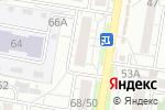 Схема проезда до компании Альфа Клининг в Барнауле