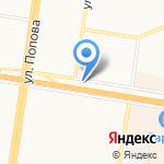 Мясная Карта на карте Барнаула