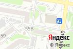 Схема проезда до компании ЖСК-155 в Барнауле