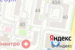 Схема проезда до компании Ёрш в Барнауле