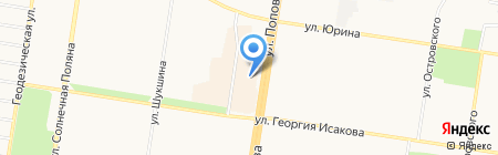ЦентрОбувь на карте Барнаула