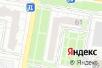 Схема проезда до компании Золотые ножницы в Барнауле