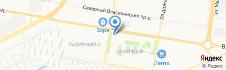 Нэо-Студия на карте Барнаула
