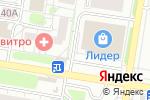 Схема проезда до компании ВСЕ в АЖУРе в Барнауле