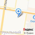 Аленка на карте Барнаула