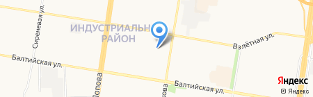 VIP Bus на карте Барнаула