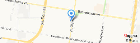 Баннерный цех на карте Барнаула