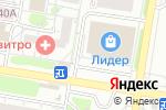 Схема проезда до компании Двери Лэнд в Барнауле