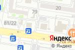 Схема проезда до компании Магазин по продаже кур-гриль в Барнауле