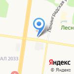 Магазин по продаже мяса и яиц на карте Барнаула