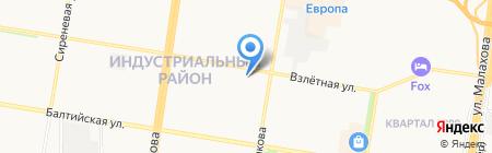ТРИД на карте Барнаула