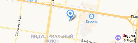 EEZEE на карте Барнаула