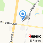 ТД Новосибирская птицефабрика на карте Барнаула