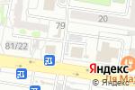 Схема проезда до компании Киоск по ремонту обуви и одежды в Барнауле