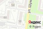 Схема проезда до компании Denim Store в Барнауле