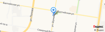ВариантСтрой на карте Барнаула