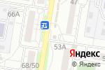 Схема проезда до компании Гавань в Барнауле