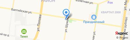Леди Икс на карте Барнаула