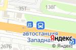 Схема проезда до компании Западная в Барнауле