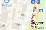 Схема проезда до компании Архив судебных участков Индустриального, Ленинского и Октябрьского районов в Барнауле