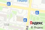 Схема проезда до компании Для милых дам в Барнауле