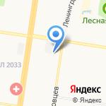 Наружная реклама на карте Барнаула