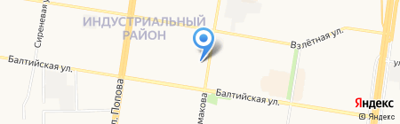 Пивнофф на карте Барнаула