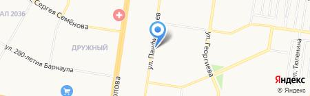 Агроспецснаб на карте Барнаула