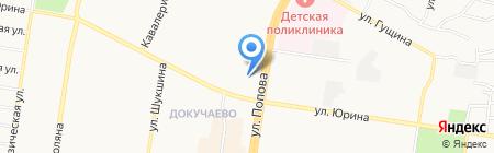 Соверэль на карте Барнаула