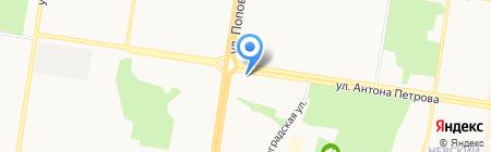 Любимые продукты на карте Барнаула
