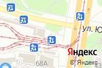 Схема проезда до компании На Докучаева в Барнауле