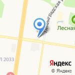 Займ Легко на карте Барнаула