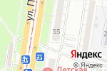 Схема проезда до компании O`style в Барнауле