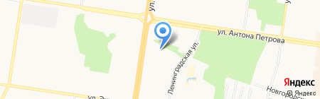 Детский сад №234 на карте Барнаула