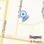 Байт на карте Барнаула