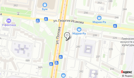 Чешуя. Схема проезда в Барнауле