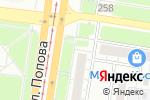Схема проезда до компании Альфасервис в Барнауле
