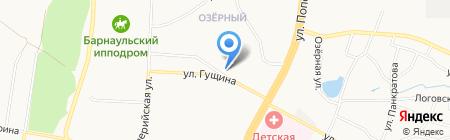 Шаурма-блинОК! на карте Барнаула
