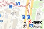 Схема проезда до компании РосДеньги в Барнауле