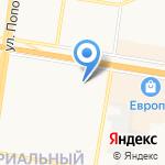 Шпулька на карте Барнаула