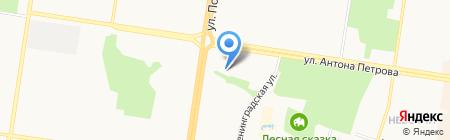 Престиж-данс на карте Барнаула