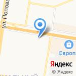 Гамма-ткани на карте Барнаула
