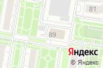 Схема проезда до компании Геометрика в Барнауле