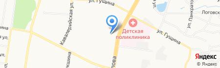 Мюнхен на карте Барнаула