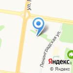 Детский сад №234 комбинированного вида на карте Барнаула