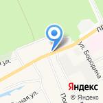 Регион 22 на карте Барнаула