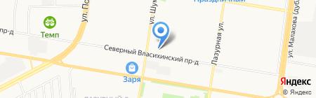ГСК 53\/1 на карте Барнаула