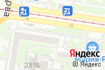 Схема проезда до компании Ателье в Барнауле
