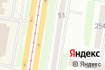 Схема проезда до компании Фиалка в Барнауле