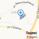 Метелица на карте Барнаула